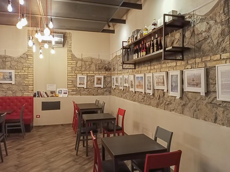 nelly schneider photography exhibition at the quintessenza caffè gourmet