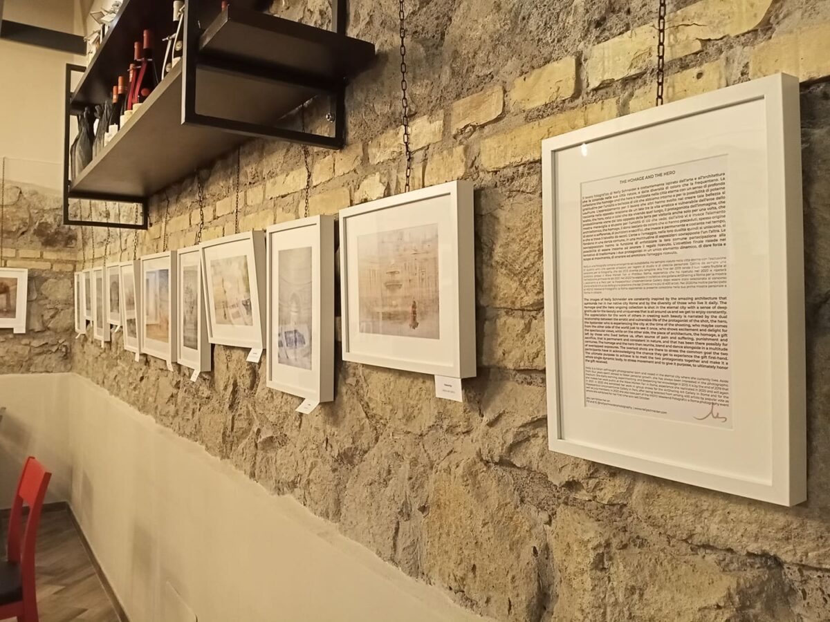nelly schneider photography exhibition at the quintessenza caffè gourmet
