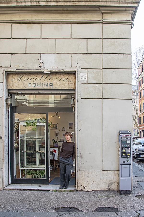 monica polledri the store owner of the assemblea testaccio store in rome