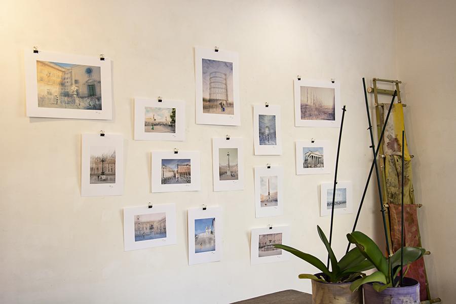 photography exhibition at the assemblea testaccio store in rome feb 2021