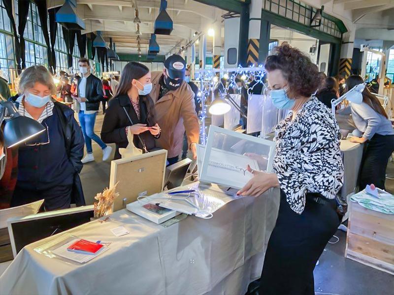 nelly schneider photography at the wave market fair 2020 autumn edition - photo marina melloni